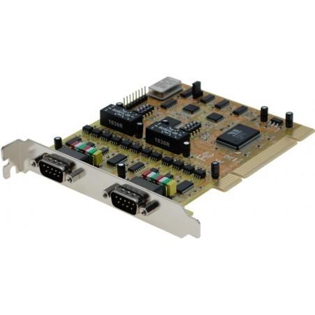 2 RS232-422-485 serielle porte til PCI, Titan UPCI-200LI-SI