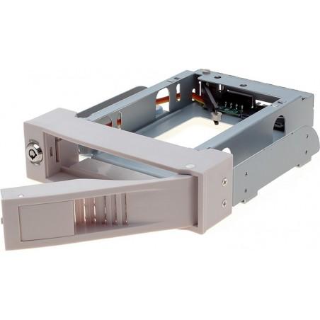 """Udtagelig 3½"""" SATA HDD ramme blæserløs sort alternativ til udtagelig 3½"""" skuffe 1169SS"""