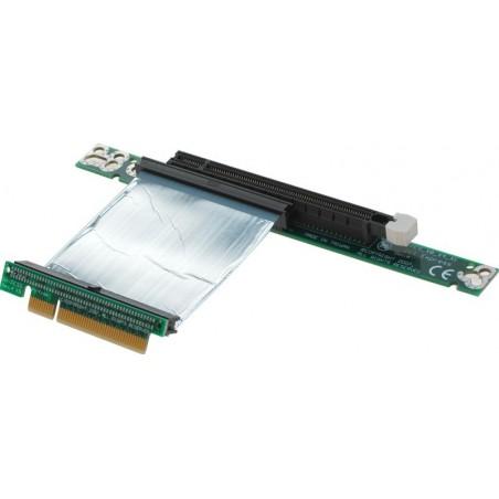 PCI Express X8 riser kort til X16 PCI Express 7cm flex-fladkabel