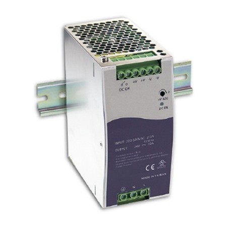 24-28VDC/5A strømforsyning, 240W, DIN-skinne