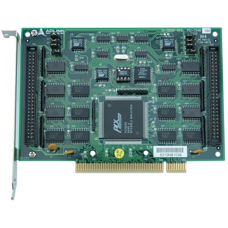 48 kanalers TTL DAQ kort, PCI Adlink PCI-7248