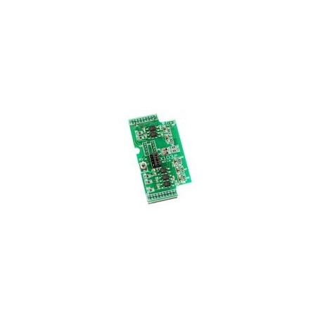 7 digitale isolerede indgange: 3,5 – 30 V. ICP DAS X103