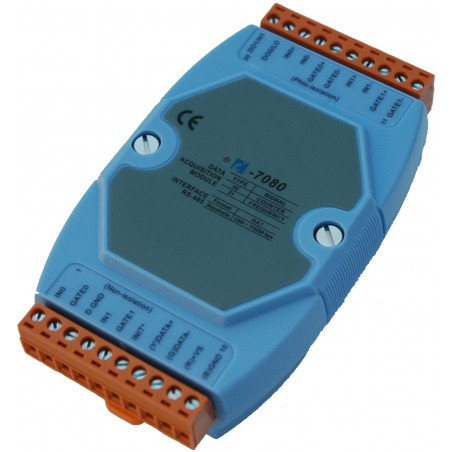Tællermodul med 2 tællerindgange. ICP DAS I-7080 CR