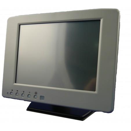 "8"" vandtæt TFT monitor, IP67, touch, VGA & BNC"