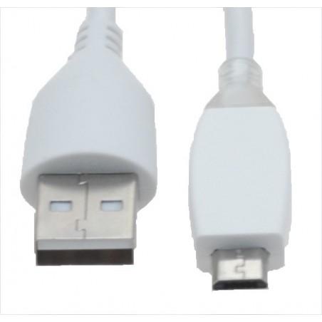 Micro USB kabel til smartphones 1, 2 meter