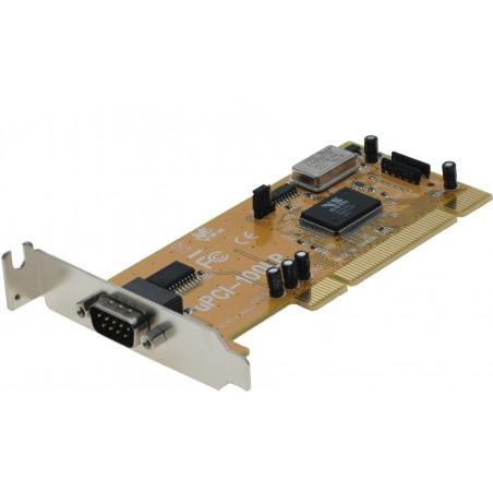 Low Profile 1 x RS232 seriel port, Titan PCI-100LP/UPCI