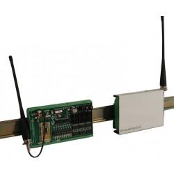 Trådlös radiomodul för överföring av digitala signaler
