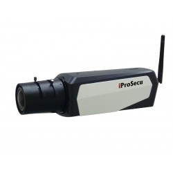 Inomhus IP tillrådlös Box kamera 2MP, High