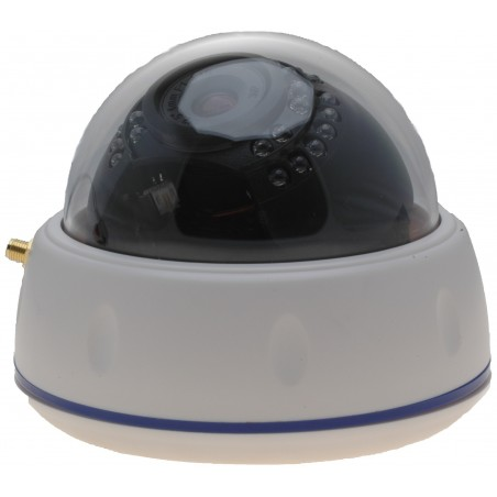 Indendørs IP PoE og Wifi/LAN dome kamera 1,3MP IR, Eco Line
