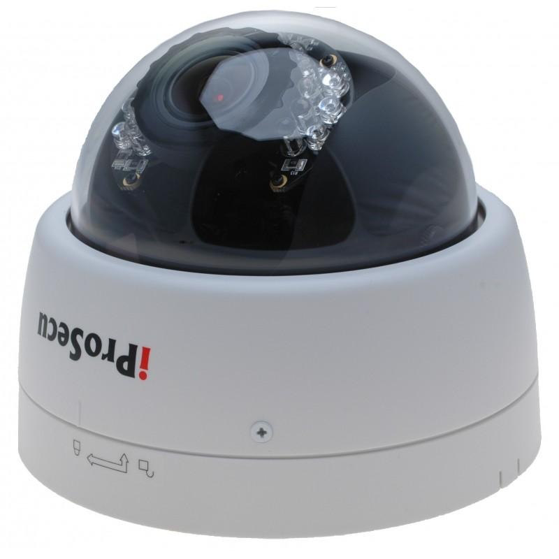 Inomhus PoE IP-domekamera 2MP IR, High
