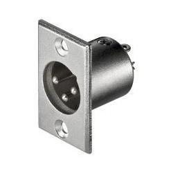 Mikrofonpanel 3-pins han, XLR