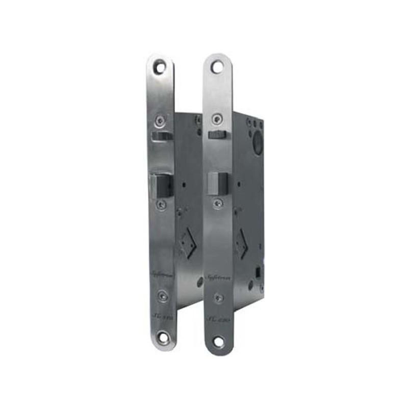 Elektillronisktill dörrlås för 12 eller 24 volt