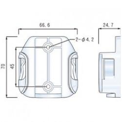 Väggfästille för LG-WL50X...