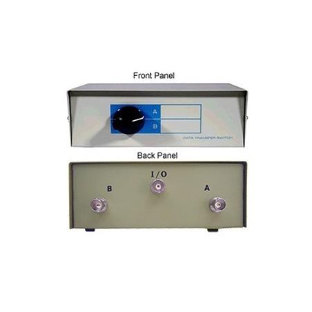 2 ports manuel omskifterboks til Composite, BNC