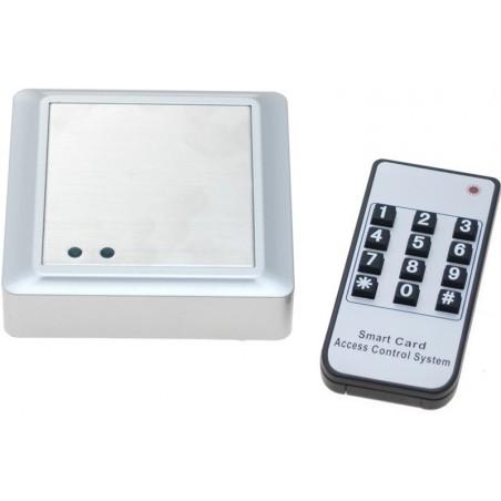 Udendørs tastatur Stand-alone adgangskontrol med RFID/Brik læser og fjernbetjening.