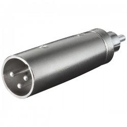 XLR adapter 3-pin XLR han –...