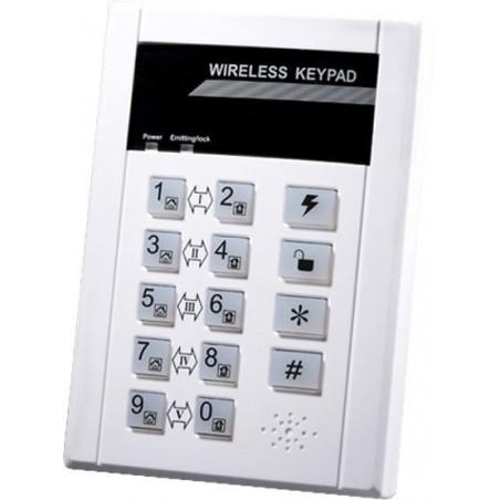 Trådløst tastatur til alarmsystem