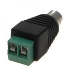 Terminalblok RCA hun til 2-pin