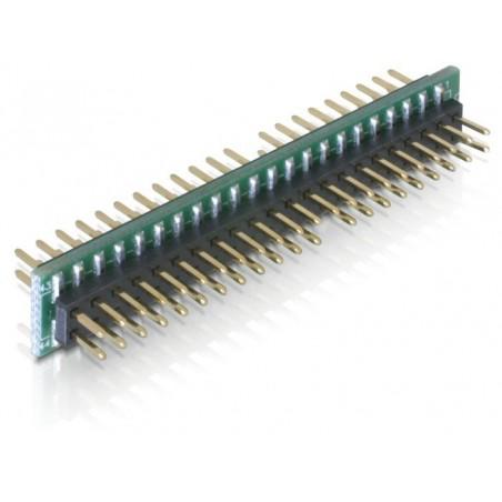 """44 pins han/han adapter til 2½"""" FLASHIDE til fladkabel med hun-stik"""