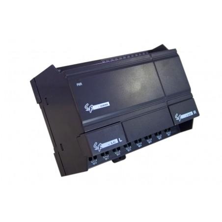 12 stk. digitale DC indgange, 8 Relæ-udgange. DC 12-24V