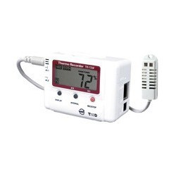 T&D 2 kanals Temperaturlogger - LAN