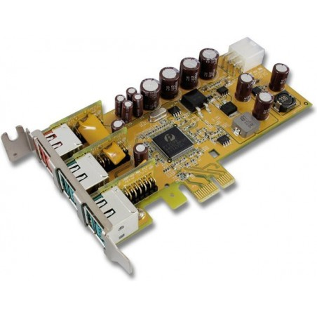 Powered USB Low Profile PCI Express kort