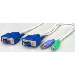 Blæksprutte KVM kabel m....