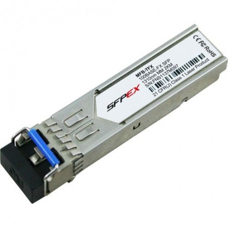 SFP port 100Base-FX, MM, LC, 2km