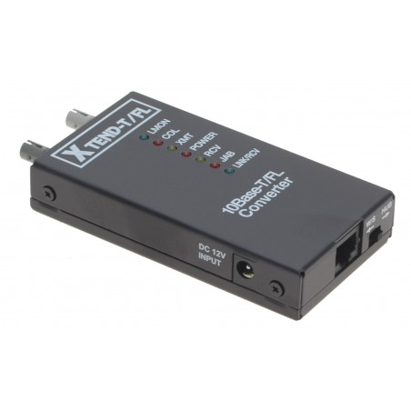 Mediekonverter RJ45 til 10Mbit Fiber Multi Mode, ST - til ældre netværk