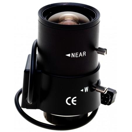 Objektiv, 2,8-12,0 mm, automatisk blænde
