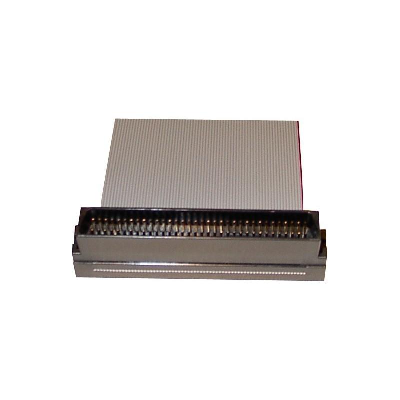 SCSI fladkabel, Mini DB68 han, 4 stik, 1,20 m, rundt