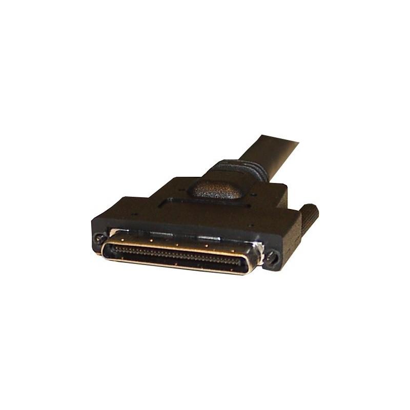 SCSI III kabel, VCEN68 han – DB68 han, 1,0 meter