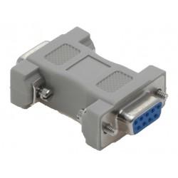 Nullmodem adapter, DB9 hun-hun