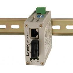 Mediekonverter RJ45 til 100Mbit Multi Mode Fiber, SC, 2 km