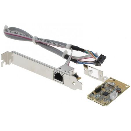 10/100/1000Mbit RJ45 mini-netkort PCI Express