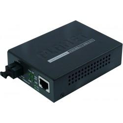Mediekonverter RJ45 til Gbit Multiplexing Fiber - Simplex Fiber