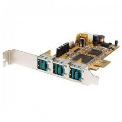 Powered USB PCI kort, 3 x 12V