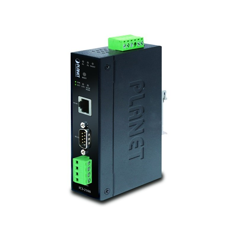 RS232 seriell port server för Ethernet