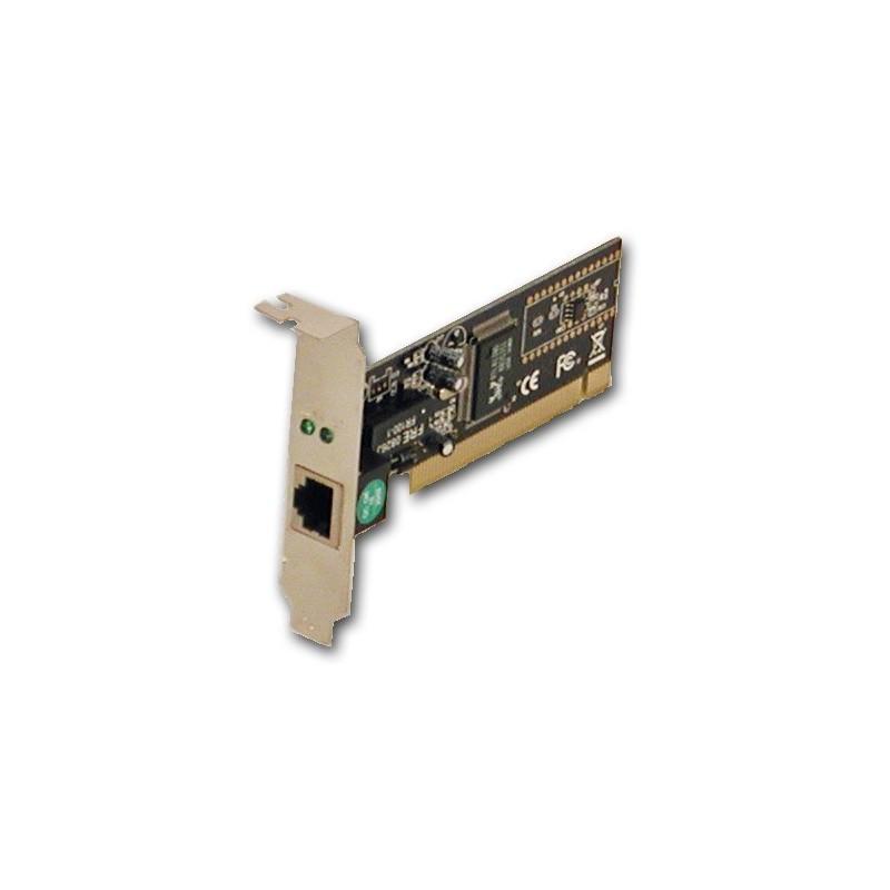 10 eller 100 Mbit PCI netkort,lo-pro