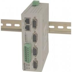 4 ports serielportserver, RS232/422/485. Serial Device Server