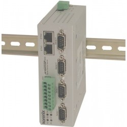 4-port seriel portserver, RS422/RS485 isoleret
