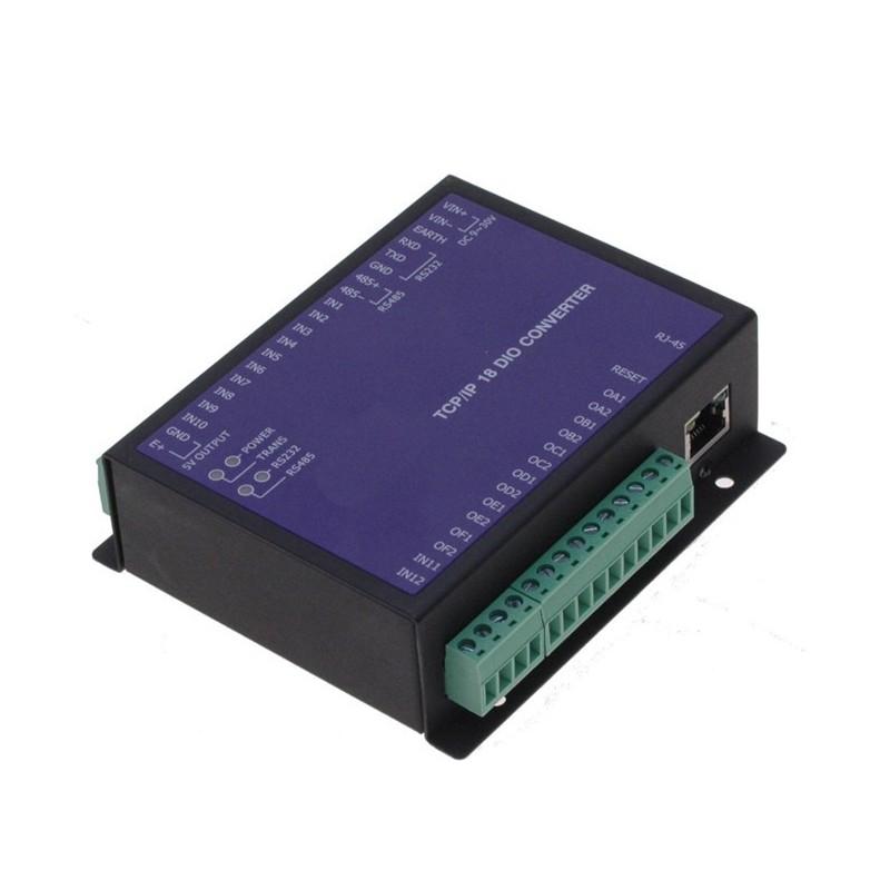 Digital IO via Ethernet og internet