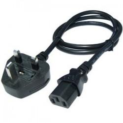 Power kabel UK med C13...