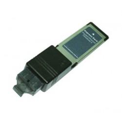 ExpressCard med fiber Ethernet. 1 x 1000 Mbit netkort til fiber LC stik