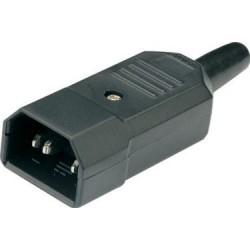 Apparatstik IEC strømstik,...