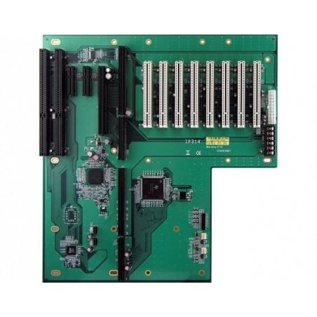 Passivt backplane PICMG1.3 BUS-kort med 8 x PCI, 3 x PCI Express, 2 x ISA