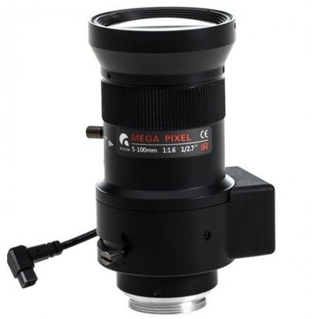 Objektiv/ kameralinse 5-100mm, CS 1,3MP