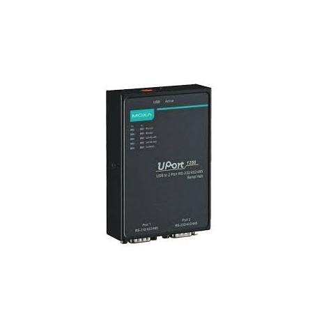 USB til 2 x RS232/422/485 adapter