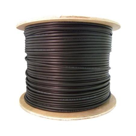 Fiber optisk kabel med fleksibel armering af rustfrit stål - multimode SC, 500 meter