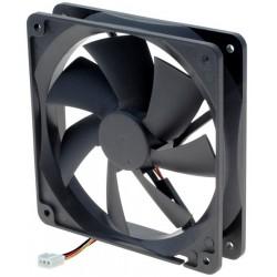 12VDC vifte 120 x 120mm, uten sensor
